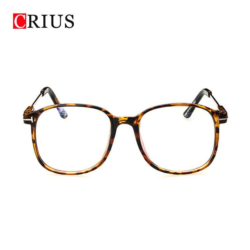 brand womens optical glasses frame women eyeglasses large metal optical frame clear glasses prescription eyewear