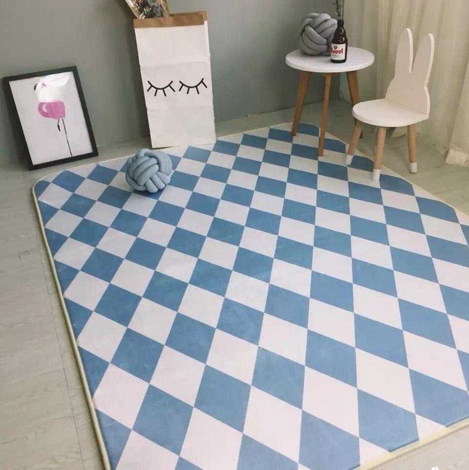 Diamant Treillis Tapis Moderne Style Tapis Salon Chambre Mode Creative  Table Basse Canapé Tapete 2 Couleurs Disponibles Dans Tapis De Maison U0026  Jardin Sur ...