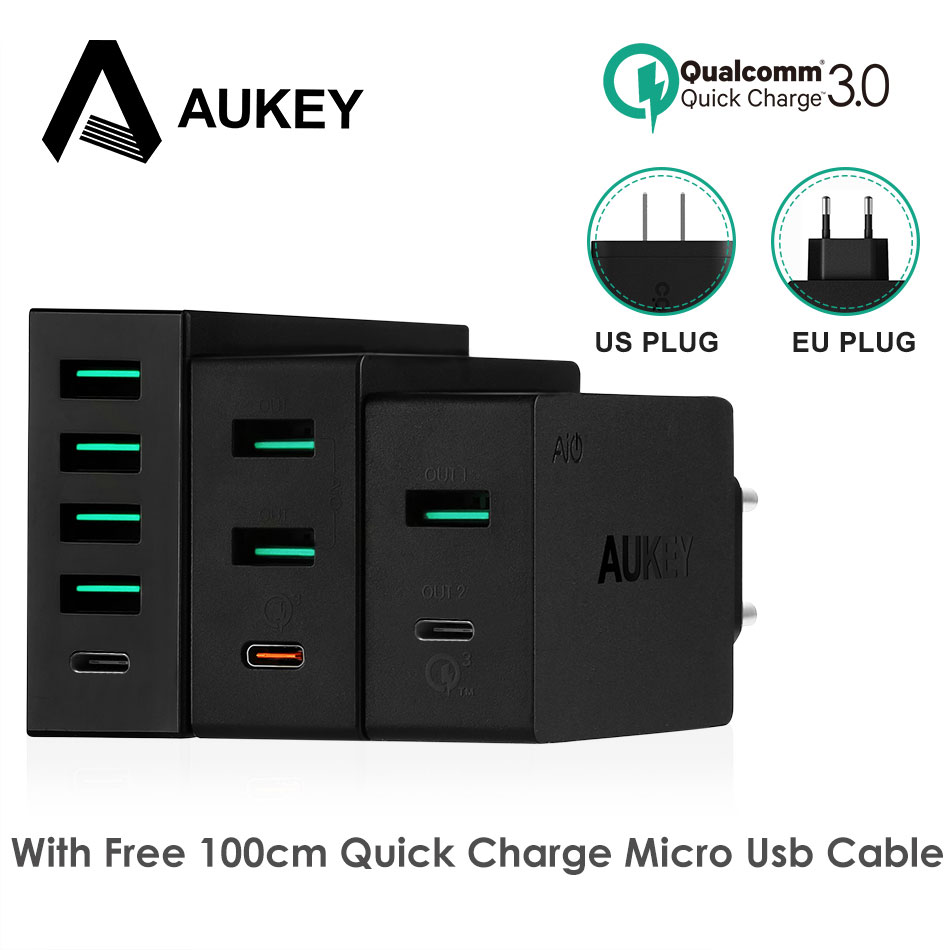AUKEY Mobile Phone Charger Type C Quick