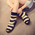 Women Boots 2016 Autumn Winter Ladies Fashion Flat Bottom Boots Shoes  Knitting wool  Brand Boots