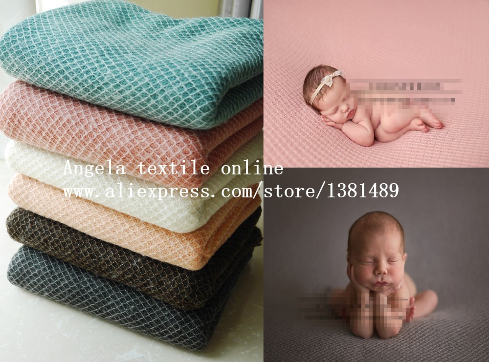 Wholesale Super Soft Knit Fabric Newborn Photography Backdrop Baby