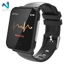 Wearpai E33 ЭКГ монитор умный браслет с сердечным ритмом кровяное давление IP68 фитнес-трекер ЭКГ монитор Смарт-часы Android IOS