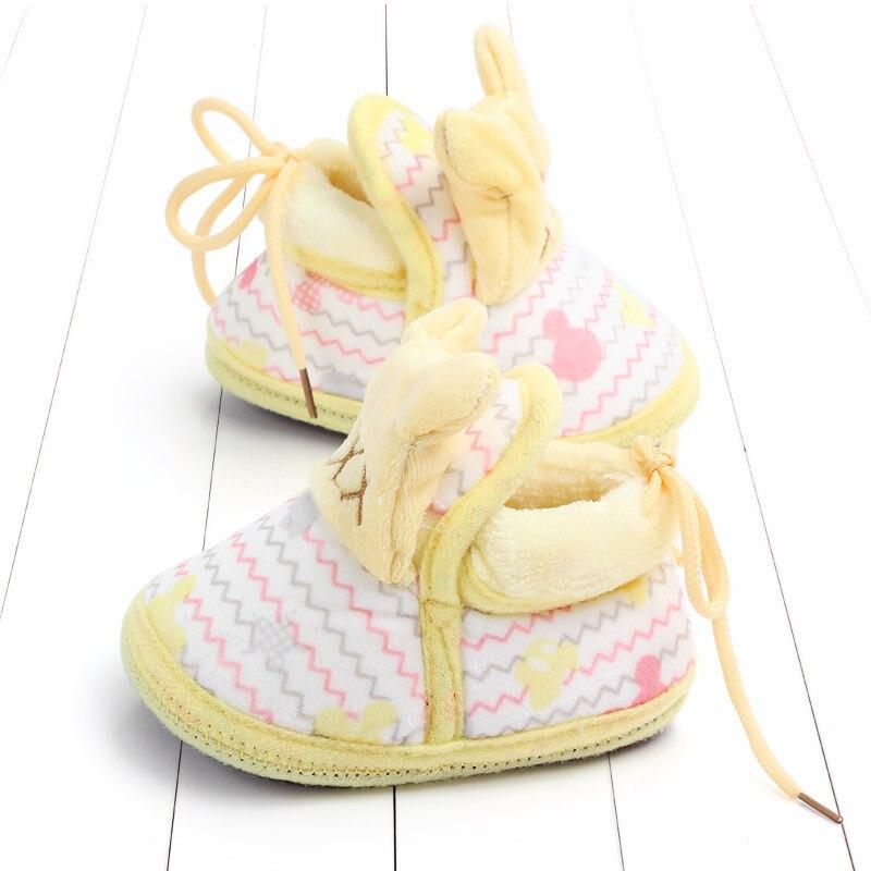Indoor First Walkers Baby Shoes Cotton Anti-slip Booties Winter Wammer Baby Girl Boy Shoes Newborn Slippers Footwear Booties (38)