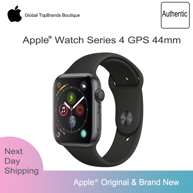 New Apple Watch Series 4 40/44mm SportBand Smart Watch 2 Heart Rate <font><b>Sensor</b></font> <font><b>ECG</b></font> Fallen Detect Activity Track Workout for iPhone image