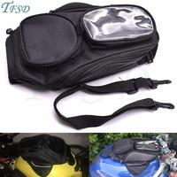 new waterproof moto fuel tank bag magnetic motorcycle saddle bag backpack mobile phone navigation For Yamaha YZF600R MT 09 MT 07