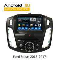 Android Car Stereo For Ford Focus 2015 2016 2017 GPS Navigation Car Multimedia Radio RDS Camera Input DVD 3G Wifi SWC AUX BT