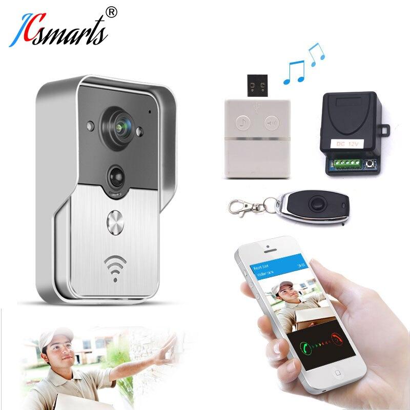 ACTOP Wifi602 Wifi Video Door Bell Wireless Door Interfone Phone Unlock Door Remotely By Smart Phones