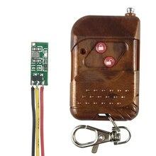 Kablosuz Uzaktan Kumanda Anahtarı 433 mhz rf verici alıcı kiti dc3.3v 3.7 v 4 v 4.5 v Pil Güç Mini Küçük denetleyici Modülü