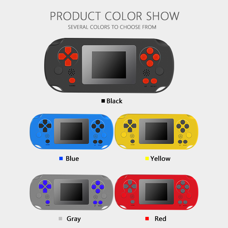 Image 5 - HOMEREALLY 8 BIT Classic Handheld Game Console Portable Retro Game Pocket Player Toys Built In 268 Classic Games-in Handheld Game Players from Consumer Electronics
