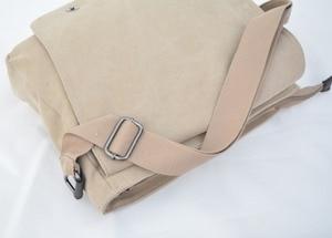 Image 5 - Fashion Totoro Crossbody Bag Women Messenger Bags Canvas Shoulder Bag Cartoon Anime Neighbor School Letter Tote Handbag