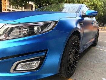 1.52*18m Car Color Changing Decoration Exterior Accessories Satin Matte Metallic Matte Chrome Vinyl Wrap