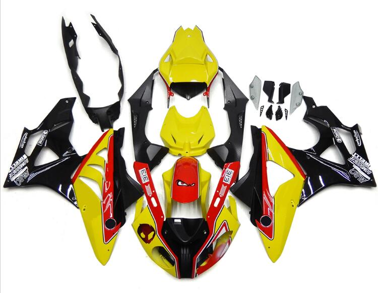New ABS Fairings For BMW S1000RR 09 12 13 14 1000RR 2009 - 2014 Injection Motorcycle Fairing Kit Bodywork set Red Yellow image