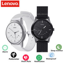 Original Lenovo Watch 9 smart Watch 5ATM waterproof Intelligent alignment time movement step gauge phone calls reminding(China)