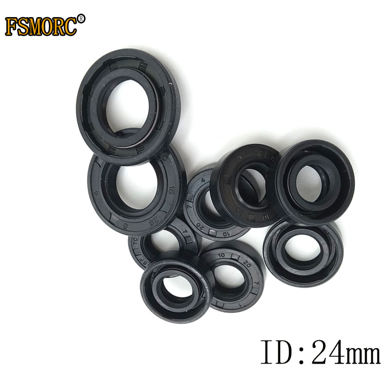 Metric Oil Shaft Seal 25 x 38 x 10mm Double Lip   Price for 1 pc
