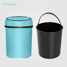 Geekinstyle 6L 9L 12L Blue Pink Green Color Touchless Automatic Sensor Waste Bin