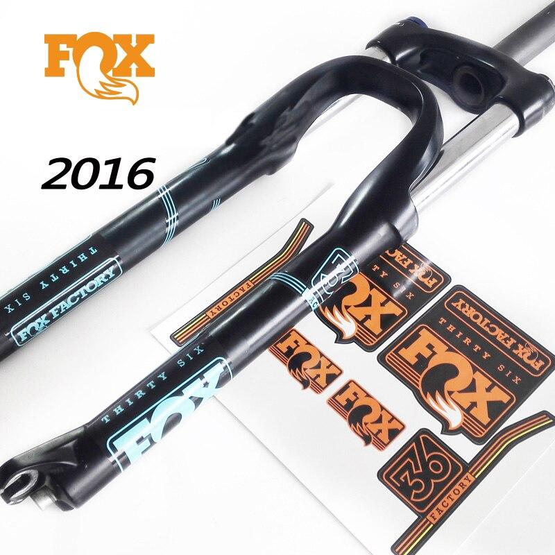 2016 fuchs 36 gabel aufkleber für mountainbike rennen radfahren ...