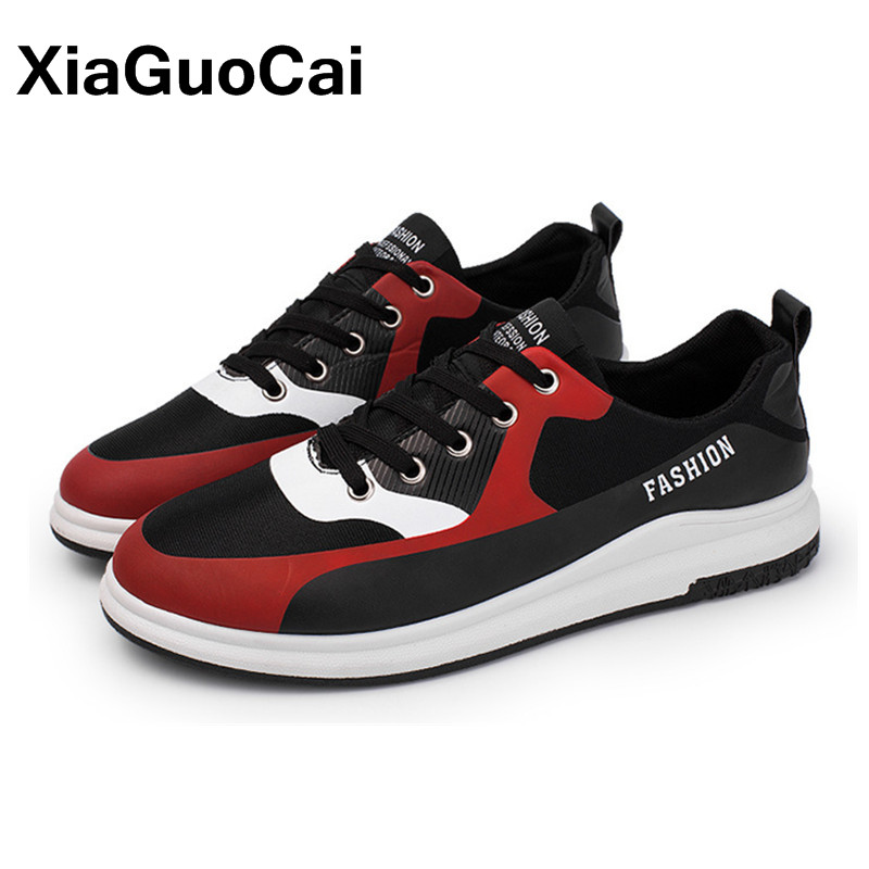 Men's Casual Shoes Sneakers Fashion Lace Up Soft Sole Male Flats Leisure Comfortable Spring Autumn Canvas Shoes For Youth Boys 2017 patchwork lace up rubber sole canvas shoes breathable super leisure women casual shoes with flats student shoes rm 05