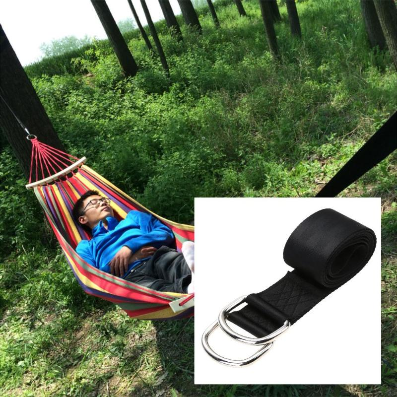 Ourdoor Hammock Supplies 2pcs Strong Bandage Belt Tree Straps Hanging Straps Rope+2pcs Hook for Camping Hanging Sleeping BedOurdoor Hammock Supplies 2pcs Strong Bandage Belt Tree Straps Hanging Straps Rope+2pcs Hook for Camping Hanging Sleeping Bed