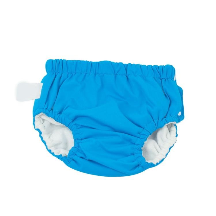 kids swimsuit blue cotton