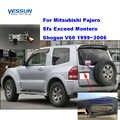 Yessun רכב לוחית רישוי אחורי מצלמה עבור מיצובישי פאג 'רו Sfx לחרוג מונטרו שוגון V60 1999 ~ 2006 backcamera חניה סיוע