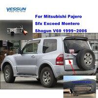 Yessun Auto kenteken achteruitrijcamera Voor Mitsubishi Pajero Sfx Overschrijden Montero Shogun V60 1999 ~ 2006 backcamera Parking Assistance-in Camera voor een voertuig van Auto´s & Motoren op