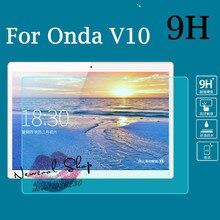 """Newcool ultra thin 9 h vidrio templado protector de pantalla para onda v10 3g 10.1 """"tablet pc película protectora protector de la pantalla"""