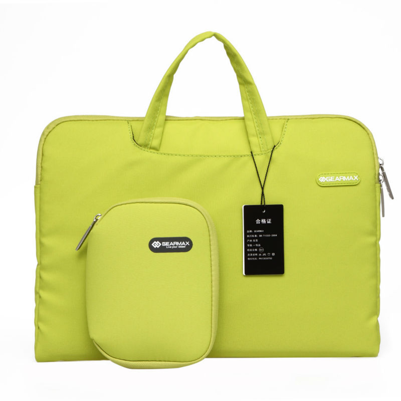 Gearmax Free Shipping Buy One Get Two Free Laptop Women Messenger Bag Notebook Carrying Case Waterproof Laptop Computer Bag 13