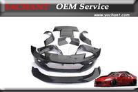 Car Styling Fiber Glass FRP Bodykit Fit For 02 08 350Z Z33 Rocket Bunny V2 Style Body Kit Bumper Fender Rear Diffuser Spoiler