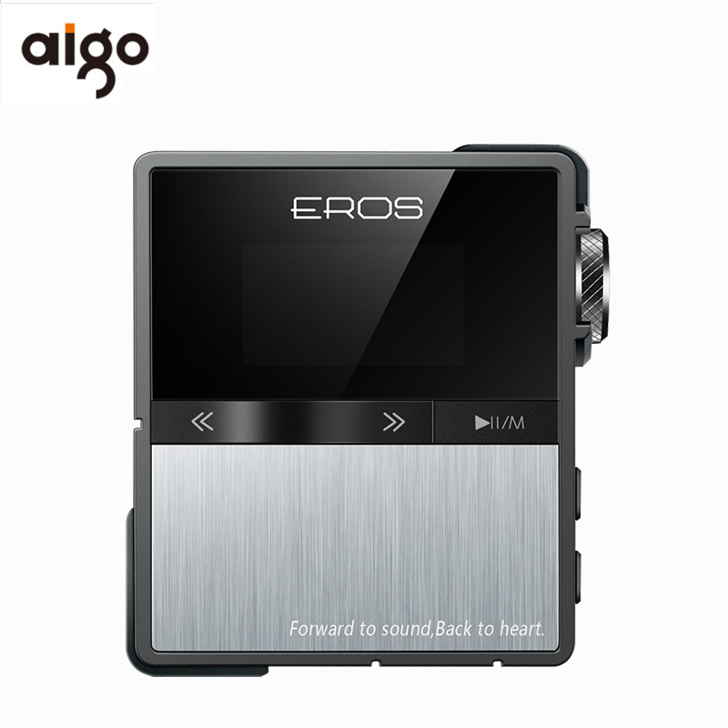 Aigo EROS TEN Mp3 Professional Bluetooth HIFI Player Mini USB DSD DAC Portable Stereo Lossless Audio Music Player Support 128GB