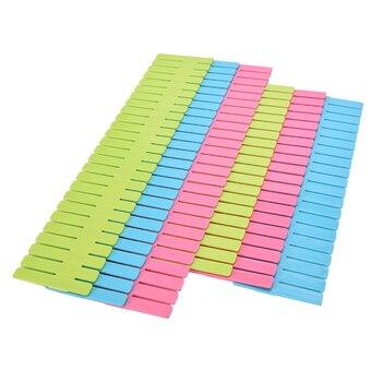 4pcs Plastic Drawer Clapboard Diy Grid Drawer Divider Household Necessities Storage Organizer For Home Underwear Socks Spices