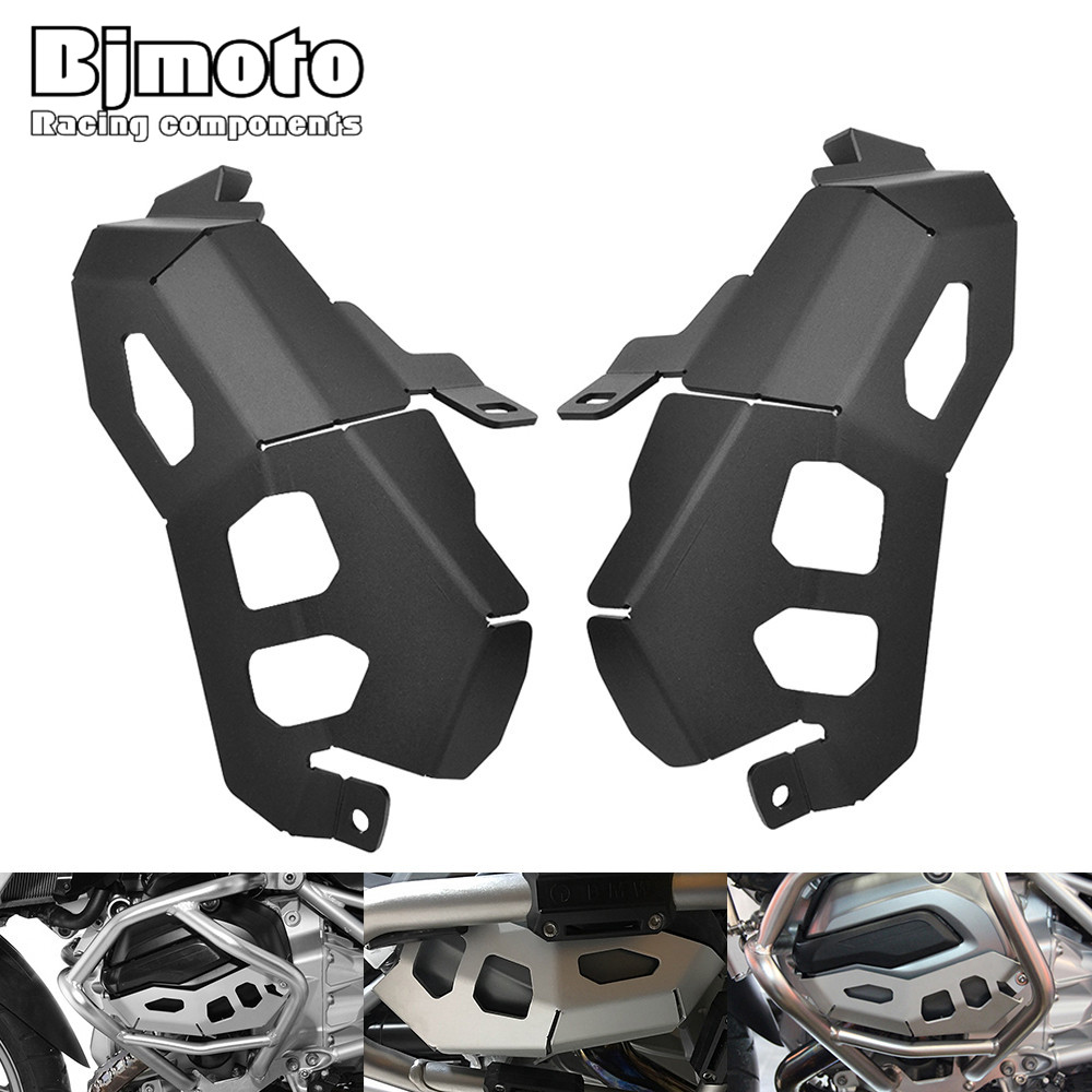 Bjmoto Motorcycle Cylinder Head Cover Cylinder Protector Engine Guard Cover For BMW R1200GS Adventure Water Cooled 2014-2017