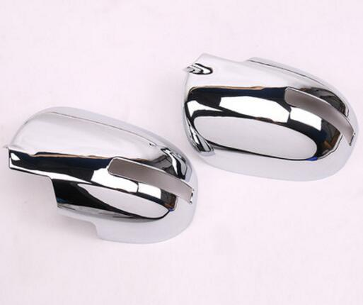 2pcs For Mitsubishi Outlander 2016 2017 2018 ABS Side Rearview Mirror Cover Trim