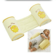 Детская форменная подушка для завершения дизайна ребенка форменная Подушка правильная плоская головка предотвращает подушка для коляски желтая курица мультфильм