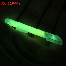 20 Pcs Clip On Tip Fishing Fluorescent Lightstick Glow in Dark Night Fishing Light Stick High Visibility Glowing Sticks SS S M L