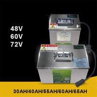 48 В/60 в/72 В литиевая батарея для двух/трех/четырехколесных электромобилей Электрический велосипед батарея 30AH/40AH/55AH/60AH/65AH