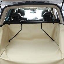 Capa de assento de carro para cachorros, capa à prova d' água para transportar cachorros no assento traseiro de carros, rede, protetora de segurança, acessórios para animais de estimação