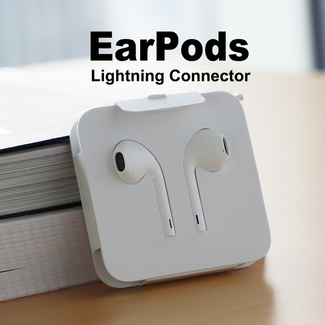 533a61b9070 Apple EarPods with lightning Plug and microphone. Original Earphone for  iPhone7|7s8|8p|X and iPad.(Simple Package)