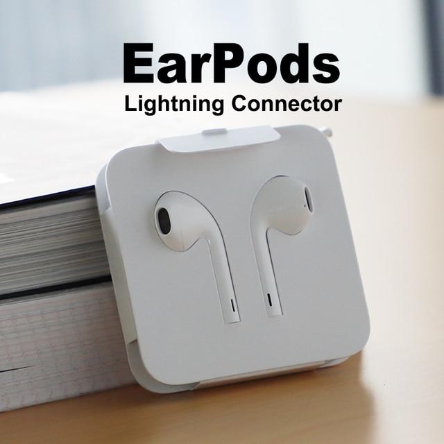 Apple EarPods z lightning wtyczka i mikrofon. Oryginalna słuchawka dla iPhone7 | 7s8 | 8p | X i iPad. (pakiet prosty)