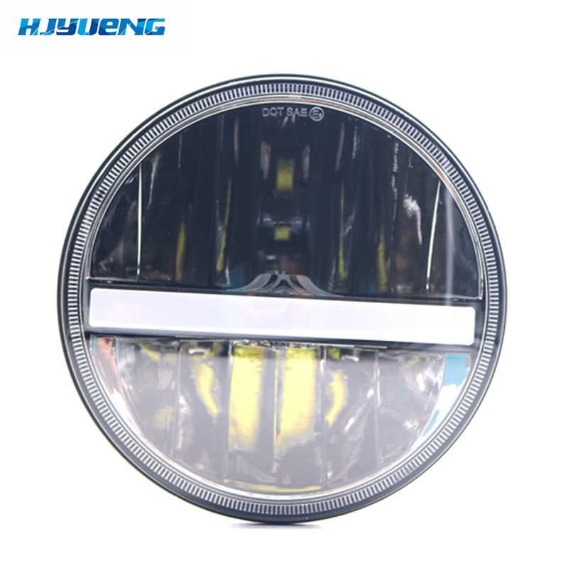 7inch 30w H4 LED headlight For jeep Wrangler TJ LJ JK CJ-5 CJ-7 CJ-8 Scrambler Motorcycle Offroad Vehicles orFor Suzuki Samurai whdz 1pc round 7inch 75w round led headlight hi low beam head light with bulb drl for jeep wrangler tj lj jk cj 7 cj 8 scrambler