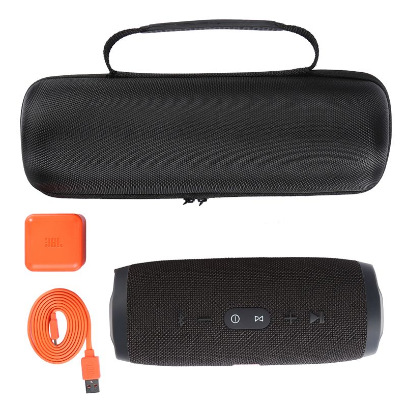 Image 4 - EVA Hard Case Travel Protective Wireless Bluetooth Speakers Cases For for JBL charge3 charge 3 Extra Space (ONLY CASE)-in Speaker Accessories from Consumer Electronics