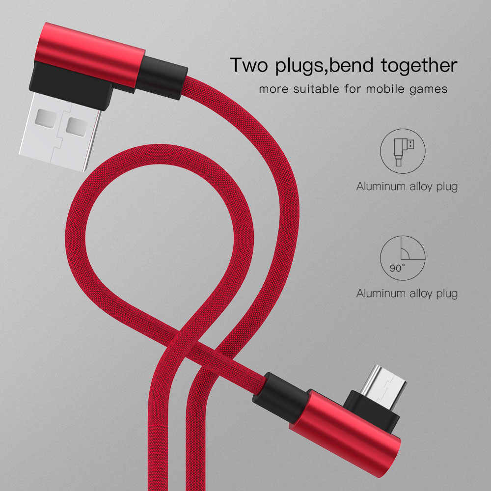 Micro USB Cable For Xiaomi Redmi Note 4 5 Pro Mobile Phone Data Cable for Samsung S7 S8 S9 Type C Cable