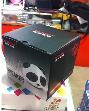 Hot Mini Panda Speaker For laptop &MP3 &Mp4