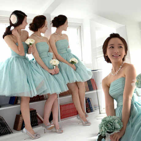 Red Light purple Green short strapless bridesmaid dress for wedding party Sweet  Memory SW0035 Promotional Price 880d7ba81de5
