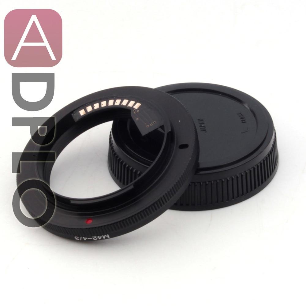 ADPLO 020005, M42-pour Olympus4/3, AF Confirmer adaptateur Mount Adapter Anneau Pour M42 Lens pour pour Olympus 4/3 Mont Caméra