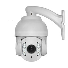 CCTV H.264 2.0megapixel 10X Mini High-speed Indoor IP PTZ Camera(1080P), Support P2P/ONVIF