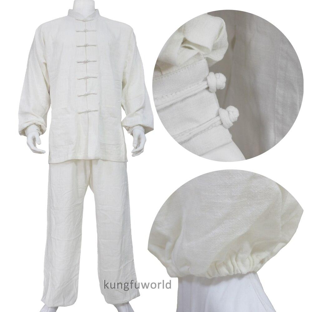 Thick Cotton Tai Chi Uniforms Martial Arts Kung Fu Wing Chun Taiji Suit Custom Make 10 Colors