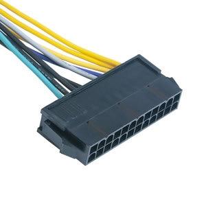 Image 5 - 24 פין ל 8 פין ATX PSU כוח מתאם כבל תואם עם DELL Optiplex 3020 7020 9020 דיוק T1700 12  אינץ (30 cm)