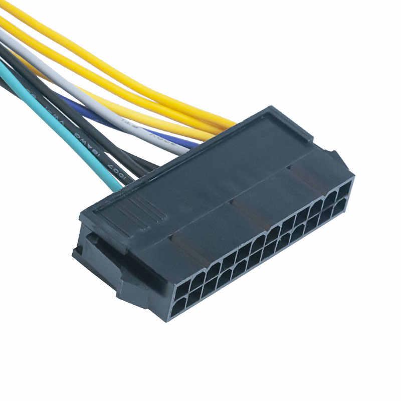 24 pines a 8 pines ATX PSU Cable adaptador de alimentación Compatible con DELL Optiplex 3020 7020 9020 precisión T1700 12 -pulgadas (30 cm)