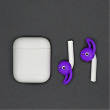 For Airpods Wireless Bluetooth Headset Silicone Ear Cap Apple 2nd Generation Headphone Cover Anti-slip Sports  Ear Silicone Case