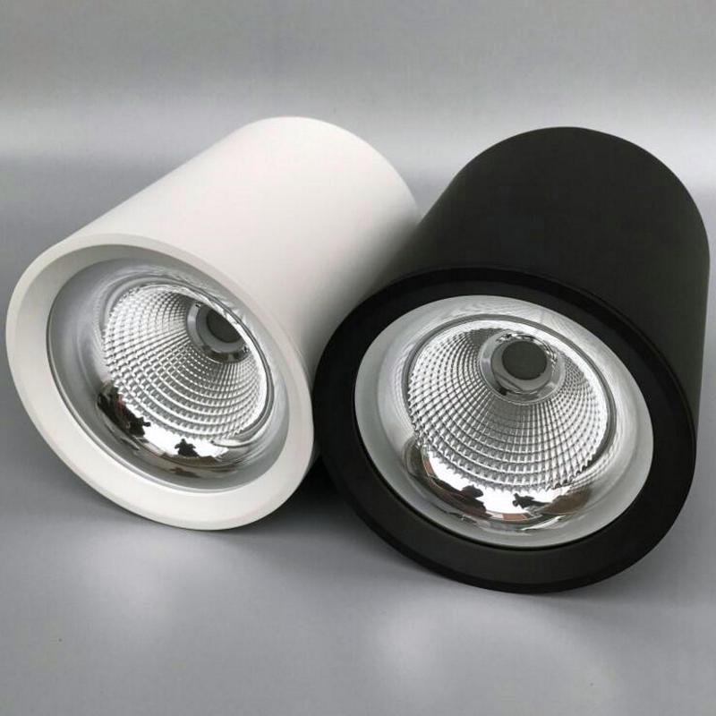 Новые 15 Вт затемнения удара светодиодный светильники Светильник Встраиваемые лампы AC110/AC240V светодиодный потолочный